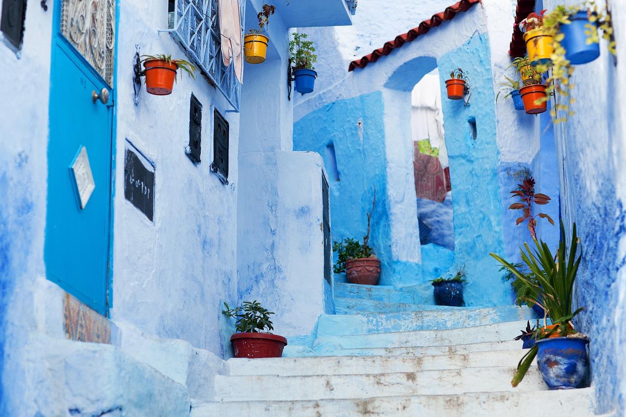 Chefchaouen_Louer un 4X4 à Marrakech (Pixabay)