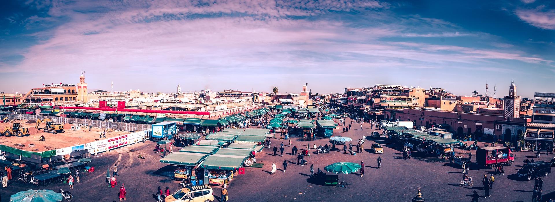 Festival national des arts populaires de marrakech