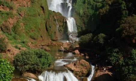 Les cascades d'Ouzoud en 4x4